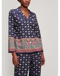 Liberty - Persia Tana Lawn Cotton Long Pyjama Set - Lyst