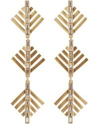 Lulu Frost - Cascadia Pine Drop Earrings - Lyst