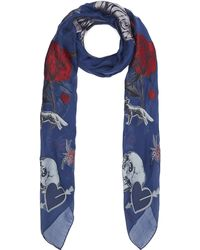 Alexander McQueen - Thorn In My Heart Fil Coupé Scarf - Lyst