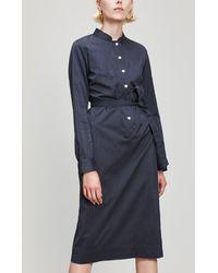A.P.C. - Anne Cotton Dress - Lyst