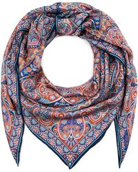 Liberty - Andromeda 135 X 135 Silk Scarf - Lyst