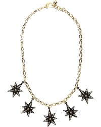 Lulu Frost - Gold-plated Orana Star Necklace - Lyst