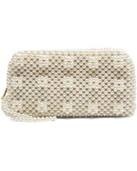 Shrimps - Molly Faux Pearl Purse - Lyst