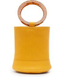 Simon Miller - Bonsai 20 Medium Leather Bucket Bag - Lyst