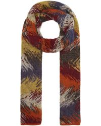 Missoni Jacquard Wool-blend Scarf - Multicolour