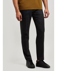 Acne Studios - Ryder Wool-blend Drawstring Trousers - Lyst