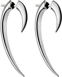 Shaun Leane - Silver Hook Earrings - Lyst