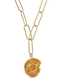 Alighieri - Gold-plated Peacekeeper Necklace - Lyst