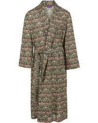 Liberty - Strawberry Thief Long Cotton Robe - Lyst