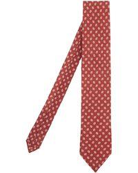 Peckham Rye | Mini Oval Dot Print Wool Tie | Lyst