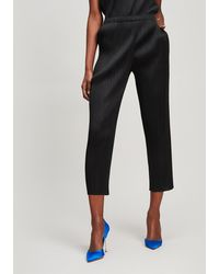 Pleats Please Issey Miyake - Basic Slim Trousers - Lyst