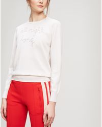 Lingua Franca - All Night Long Cashmere Knit - Lyst