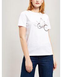 Paul Smith - Cycling Dog Cotton T-shirt - Lyst