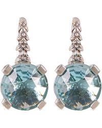 Stephen Dweck - Silver Aqua Quartz Drop Earrings - Lyst