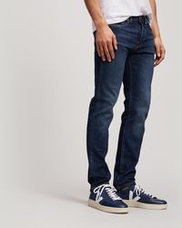 Edwin - Ed-80 Slim-fit Red Selvedge Jeans - Lyst