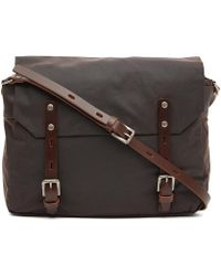 Ally Capellino - Waxed Jeremy Satchel - Lyst