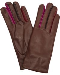 Paul Smith - Leather Concertina Gloves - Lyst
