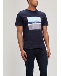 NN07 - Mason Printed T-shirt - Lyst