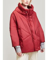 Crea Concept - Quilted Puffer Jacket - Lyst