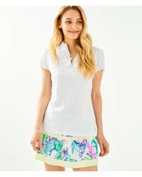 f929264e159de1 Lilly Pulitzer Luxletic Brodie T-shirt in Blue - Lyst
