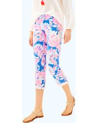 """Lilly Pulitzer - 26"""" Sadie Stretch Crop Chino Pant - Lyst"""