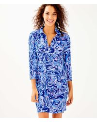 Lilly Pulitzer - Upf 50+ Ansley Polo Dress - Lyst