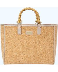 Lilly Pulitzer - Soiree Cork Tote Bag - Lyst