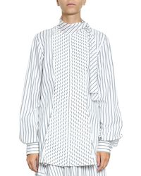 J.W.Anderson - Oversized Cotton Shirt - Lyst