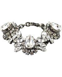 Emanuele Bicocchi - Silver Bracelet With Swarovski - Lyst