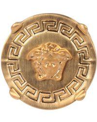 Versace - Chevalier Medusa Ring - Lyst