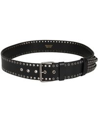 Dries Van Noten - Studded Leather Belt - Lyst