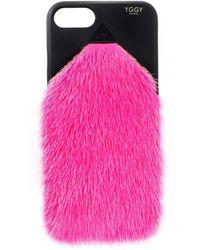 Yggy Paris - Mink Fur Iphone 7/8 Case - Lyst