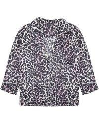 Love Stories - Jude Leopard Shirt - Lyst