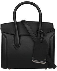 Alexander McQueen - Heroine 21 Leather Bag - Lyst