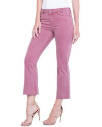 Liverpool Jeans Company - Hannah Cropped Flare - Lyst