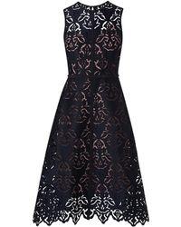 L.K.Bennett - Marie Navy Dress - Lyst