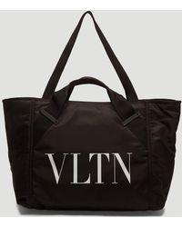 Valentino - Vltn Gym Bag In Black - Lyst