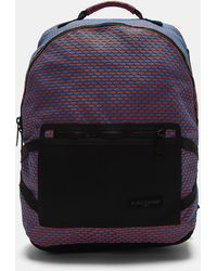 Eastpak - Padded Pak'r Bright Twine Backpack In Blue And Orange - Lyst