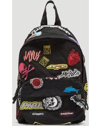 Vetements - Black Patch Embellished Backpack - Lyst