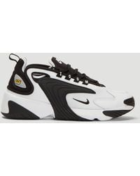 Nike - White And Black Zoom 2k Trainers - Lyst