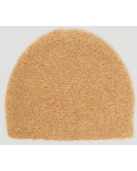 Lauren Manoogian - Toque Beanie Hat In Brown - Lyst
