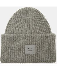 Acne Studios - Pansy Large Face Hat In Grey - Lyst