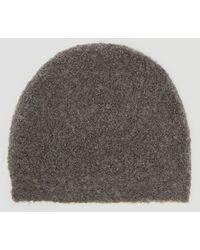 Lauren Manoogian - Toque Beanie Hat In Grey - Lyst