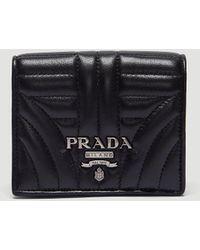 Prada - Small Wallet - Lyst