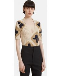 Jacquemus - La Maille Henri Knit Body In Brown - Lyst