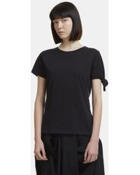 JW Anderson - Single Knot T-shirt In Black - Lyst