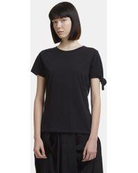 J.W.Anderson - Single Knot T-shirt In Black - Lyst