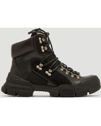 Gucci - Flashtrek High-top Trainers In Black - Lyst