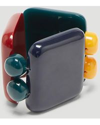 Marni - Resin Bracelet In Blue - Lyst