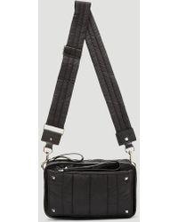Valentino - Nylon Cross Body Bag In Black - Lyst
